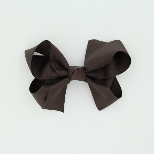 "Item no.: dgch, Size: 6""X5"", Color: Brown,  Ribbon Size: 1 1/2"", Center: Cone,   Type of Clip: French Clip        MADE IN USA"