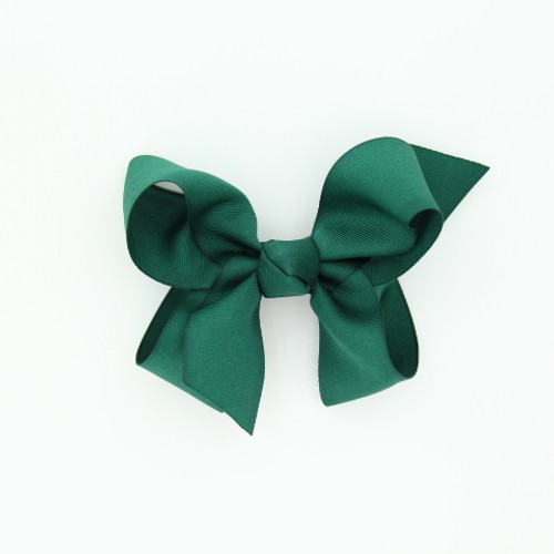 "Item no.: dgch, Size: 6""X5"", Color: Hunter Green,  Ribbon Size: 1 1/2"", Center: Cone,   Type of Clip: French Clip        MADE IN USA"