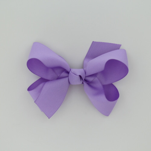 """Item no.: dgch, Size: 6""""X5"""", Color: Lavender,  Ribbon Size: 1 1/2"""", Center: Cone,   Type of Clip: French Clip        MADE IN USA"""