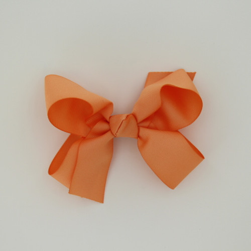 """Item no.: dgcs, Size: 6""""X5"""", Color: Peach,  Ribbon Size: 1 1/2"""", Center: Cone,   Type of Clip: French Clip        MADE IN USA"""