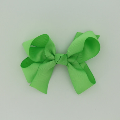 "Item no.: dgcs, Size: 6""X5"", Color: Mint Green,  Ribbon Size: 1 1/2"", Center: Cone,   Type of Clip: French Clip        MADE IN USA"