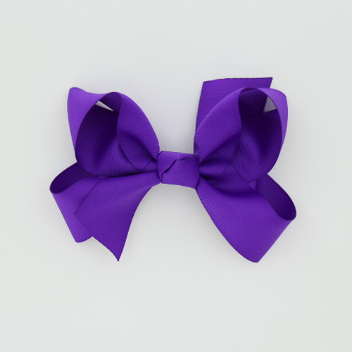 """Item no.: dgcs, Size: 6""""X5"""", Color: Lt. Purple,  Ribbon Size: 1 1/2"""", Center: Cone,   Type of Clip: French Clip        MADE IN USA"""
