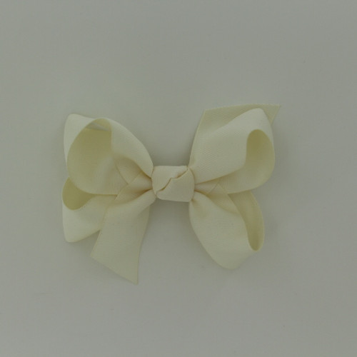 """Item no.: dgcs, Size: 6""""X5"""", Color: Off White,  Ribbon Size: 1 1/2"""", Center: Cone,   Type of Clip: French Clip        MADE IN USA"""