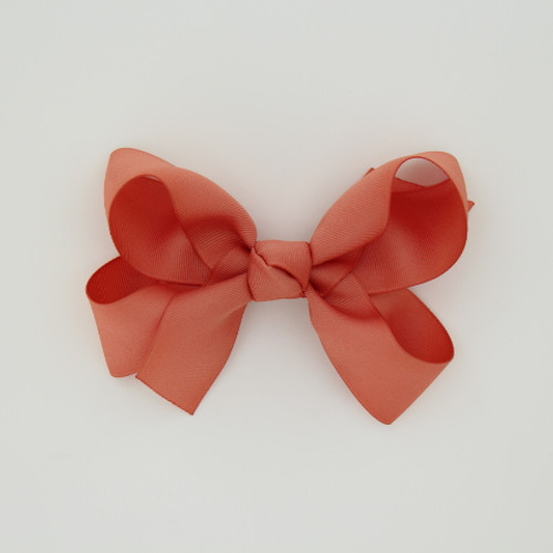 """Item no.: dgcs, Size: 6""""X5"""", Color: Rose,  Ribbon Size: 1 1/2"""", Center: Cone,   Type of Clip: French Clip        MADE IN USA"""