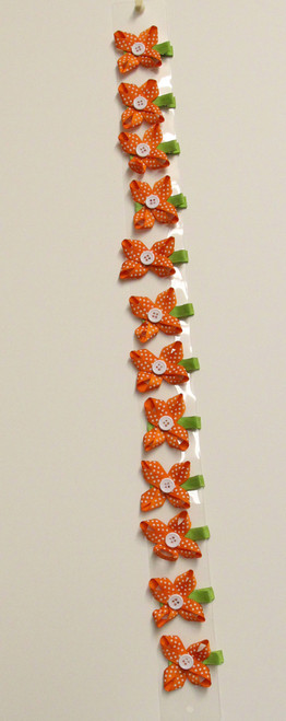 Flower Bow Orange (1DZ)