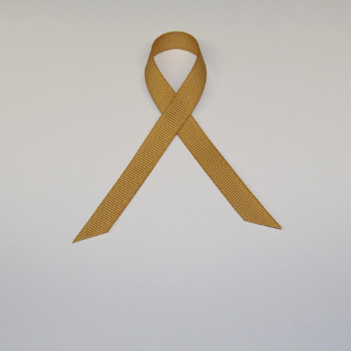 "3/8"" Grosgrain Ribbon Antique Gold"