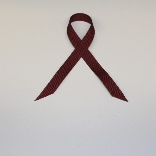 "3/8"" Grosgrain Ribbon Burgundy"