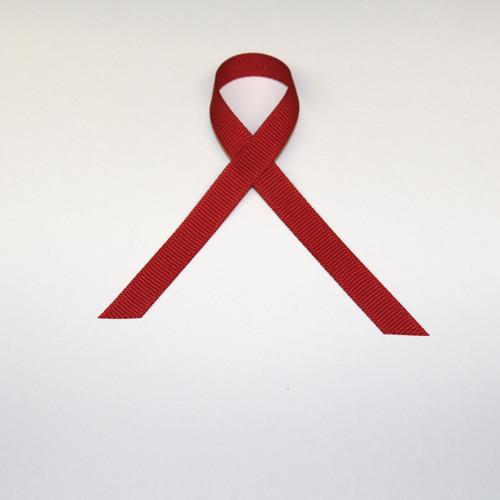 "3/8"" Grosgrain Ribbon Red"