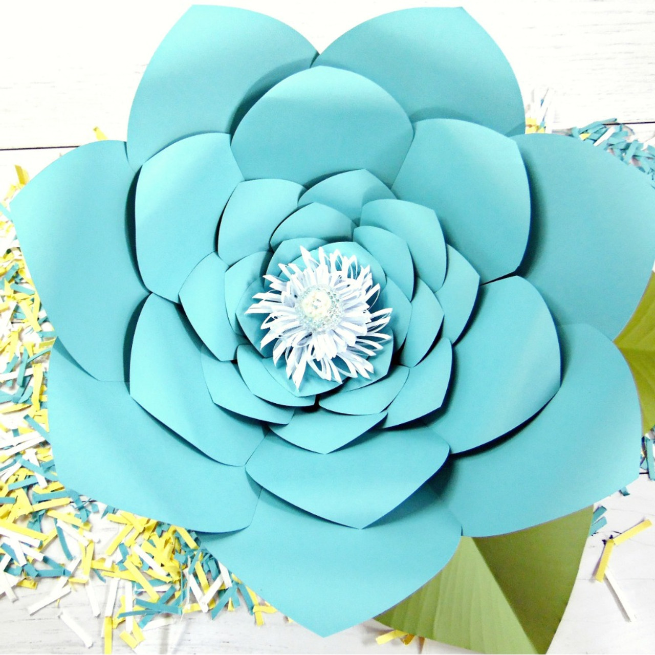 Jasmine Style Giant Paper Flower Templates Xl