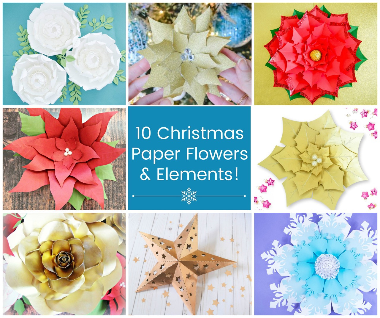 Christmas Craft Template Bundle
