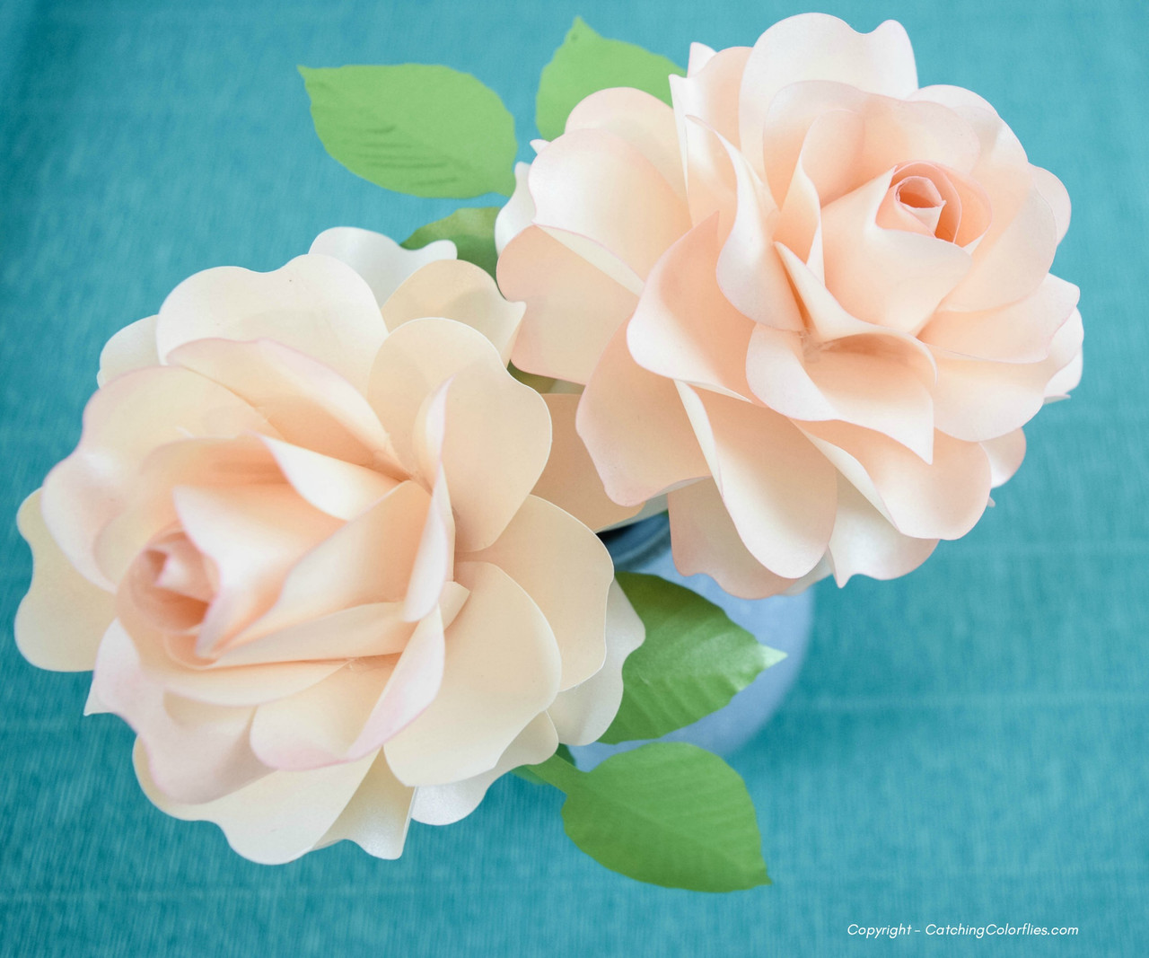 Annabelle Paper Rose Template