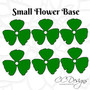 Paper Flower Wedding Bouquet Flower Template Set