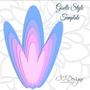 Butterfly Garden Set of Paper Flower Templates