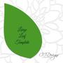 Jasmine Style Giant Paper Flower Templates-XL