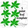 Carnation Paper Flower Templates