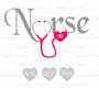 Nursing Heart SVG Cut Files