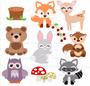 Baby Woodland Animal SVG Cut Files