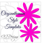 Chrysanthemum template