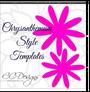 Chrysanthemum template