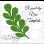 Round tip vine template
