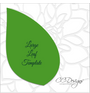 Leaf template.
