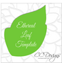 Extra Large & Small Alora Rose Template Set of 2