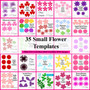 35+ flower templates, leaves and vine designs