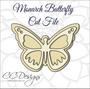 Monarch butterfly template
