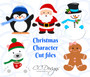 Christmas Characters Set of 5