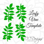 Small Gardenia Paper Flower Template