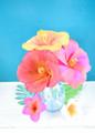 Hibiscus Crepe Flower Templates