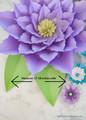 Amaryllis Inspired Paper Flower