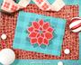 Poinsettia Christmas Mandala SVG Craft File
