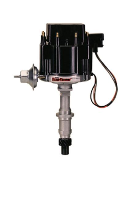 PerTronix D1200 Flame-Thrower Black Cap Distributor HEI for Pontiac Small Block//Big Block