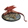 M62 Smaug the Dragon, Bilbo and Treasure Vignette - Painted