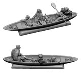 April 2019 Designer Release: Lorien boat with Aragorn, Merry and Pippin.