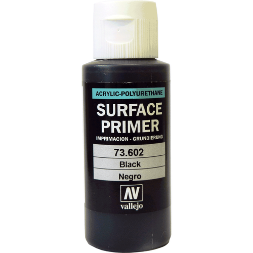 Black Surface Primer 60ml Vallejo paint 70602
