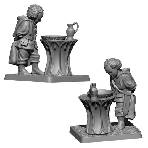 MZ641 Frodo and Galadriel's mirror