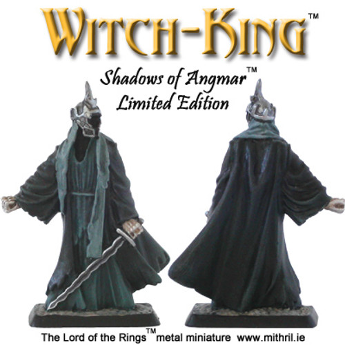 Witch-king - Shadows of Angmar Limited Edition metal figure