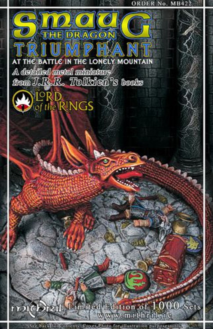 Smaug the Dragon Triumphant Box set