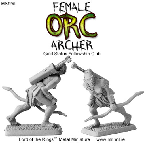 MS595 Female Orc Archer