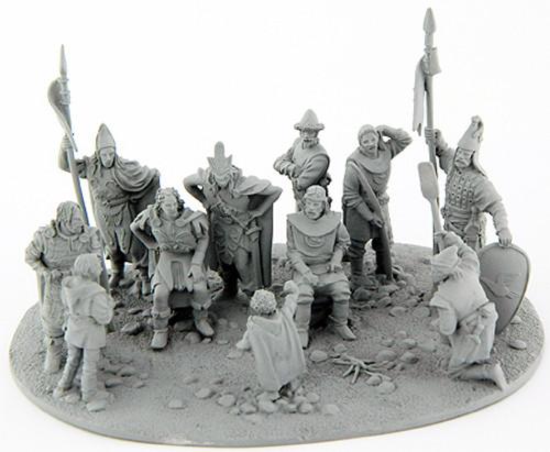 MV592 The Hobbit - Bilbo presents the Arkenstone.