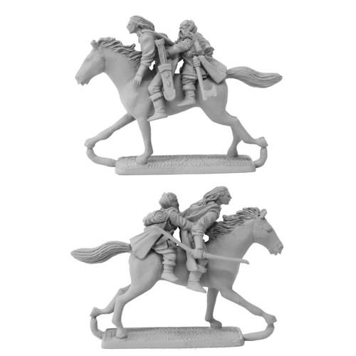 MS587 Legolas and Gimli riding Arod.