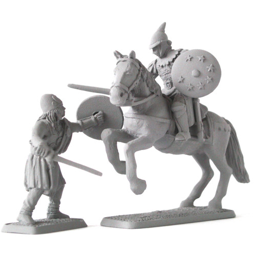 Arnorian Knight fighting Hillman