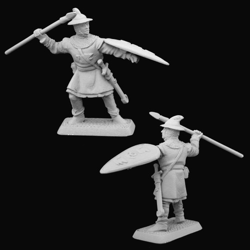 M492 Dol Amroth Spearman with raised spear