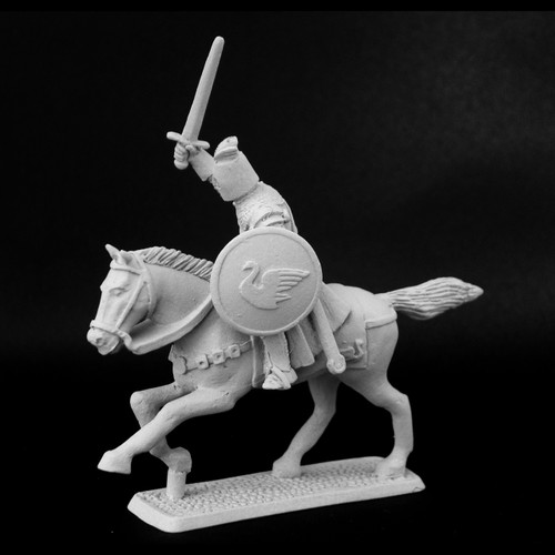 M489 Dol Amroth Knight with raised sword