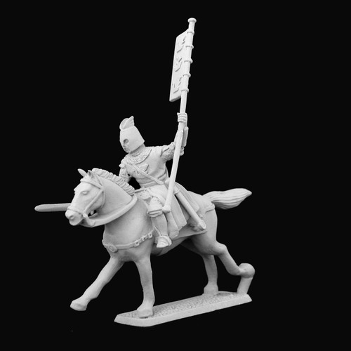 Dol Amroth knight with standard bearer