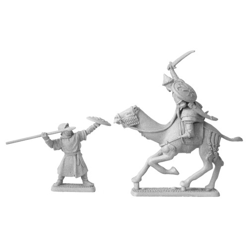 MS468 Haradrian Champion on Warcamel with bonus Gondorian soldier