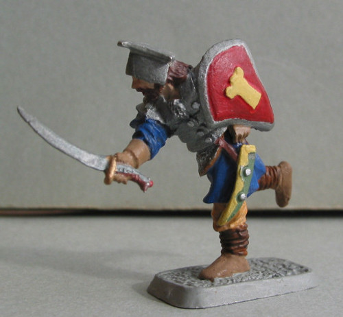 Mannish warrior with scimitar