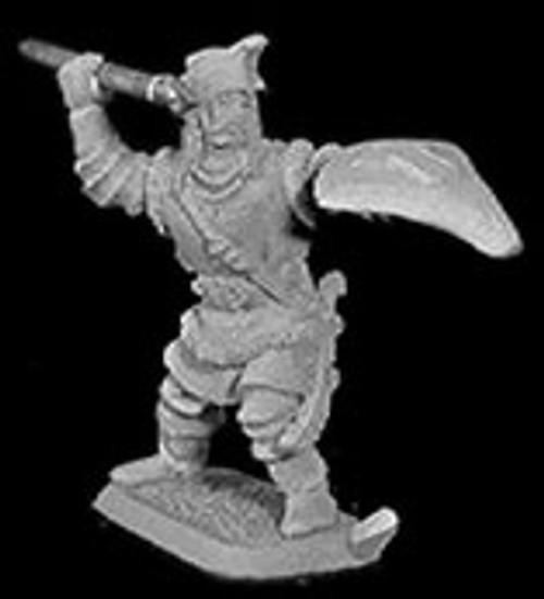 M44 Mannish warrior with spear.